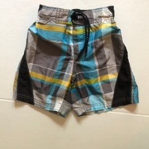 The Children's Place checkered swim trunks size 4